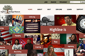 Highline Heritage Museum Website