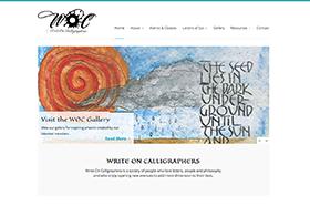 Write On Calligraphers Website