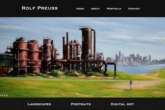 Rolf Preuss Website