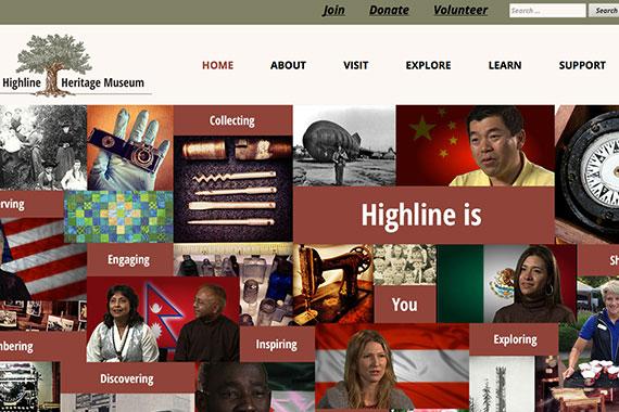 Highline Heritage Musuem Website